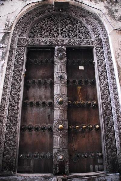 Stone town places to visit in zanzibar tanzania for Door of stone