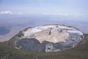 Oldonyo Lengai Mountain in Natron